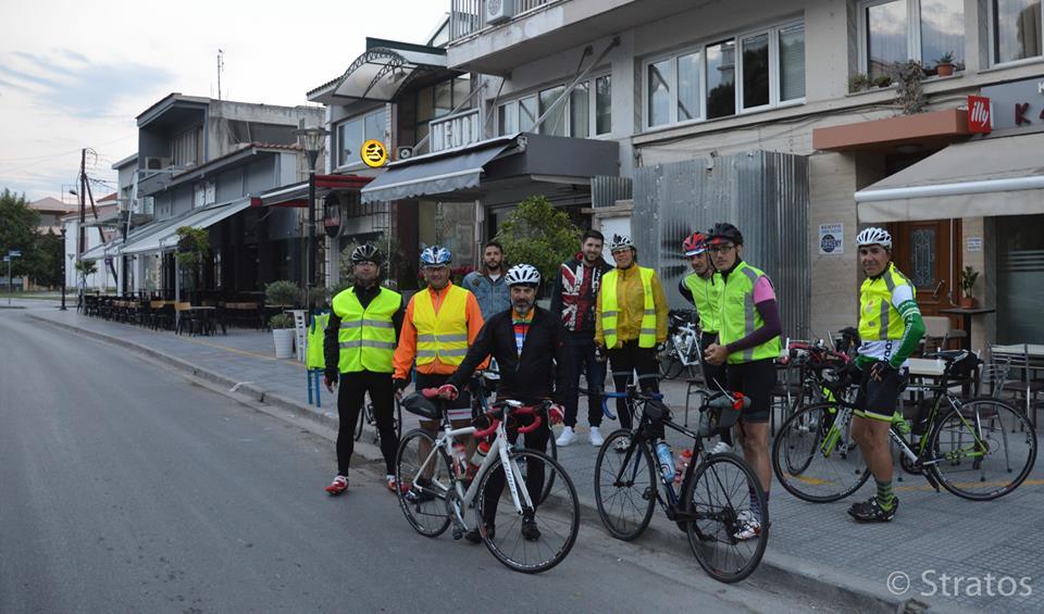 Brevet Θεσσαλονίκης - 600 χλμ