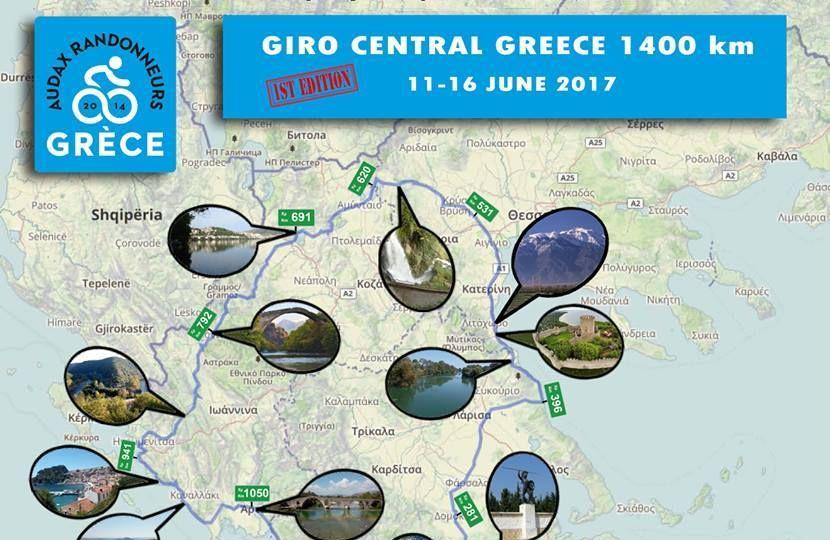 Brevet Giro Central Greece