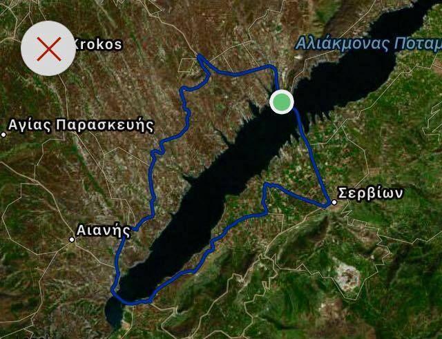 12ος Πανελλήνιος Ποδηλατικός Γύρος Λίμνης Πολυφύτου