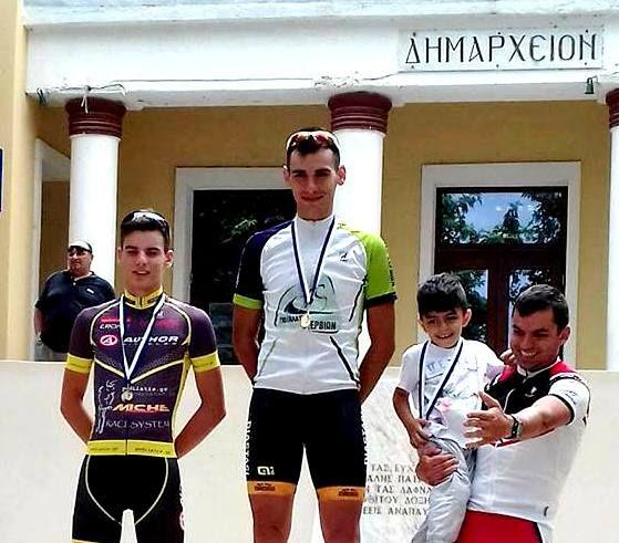 Ποδηλάτρες Φλώρινας-Γιώργος Πράσσος 1ος Γενικής