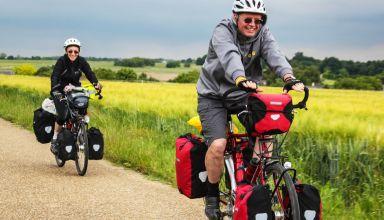 Ποδήλατο Τουρισμού – Δερμάτινες σέλες και τσάντες