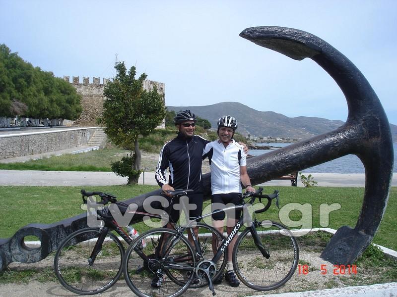 Από το Γιβραλτάρ στην Κάρυστο με ποδήλατο