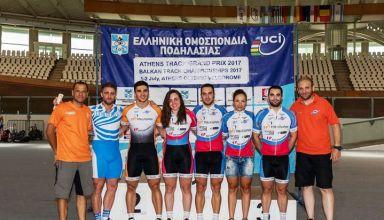 Ολοκληρώθηκε χθες το ATHENS TRACK GRAND PRIX 2017 που διοργάνωσε ο ΕΟΠ στο Ολυμπιακό Ποδηλατοδρόμιο του ΟΑΚΑ