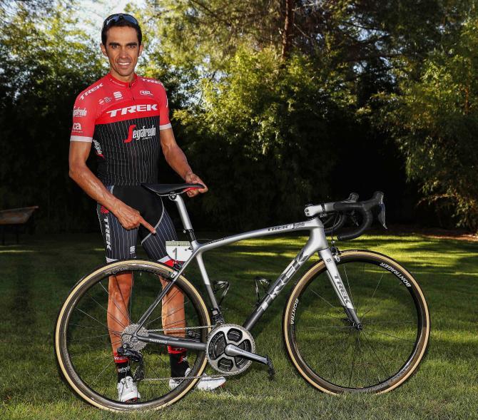 Alberto Contador - Το τελευταίο Emonda SLR της TREK