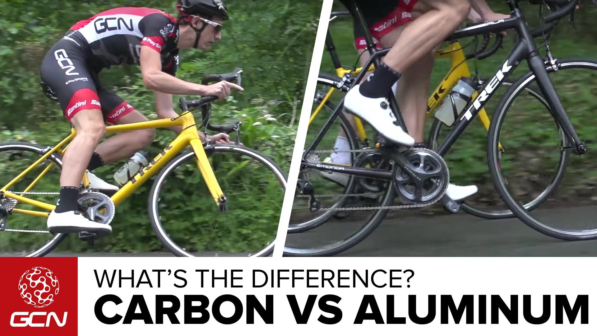 Ανθρακόνημα ή αλουμίνιο - Ποιά η διαφορά στο δρόμο;