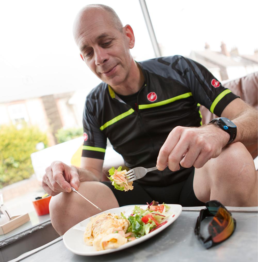 Διατροφή και ποδηλασία σε μεγαλύτερη ηλικία