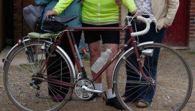 Ένας ποδηλάτης 88 ετών, χάνει τον «πιστό φίλο» του