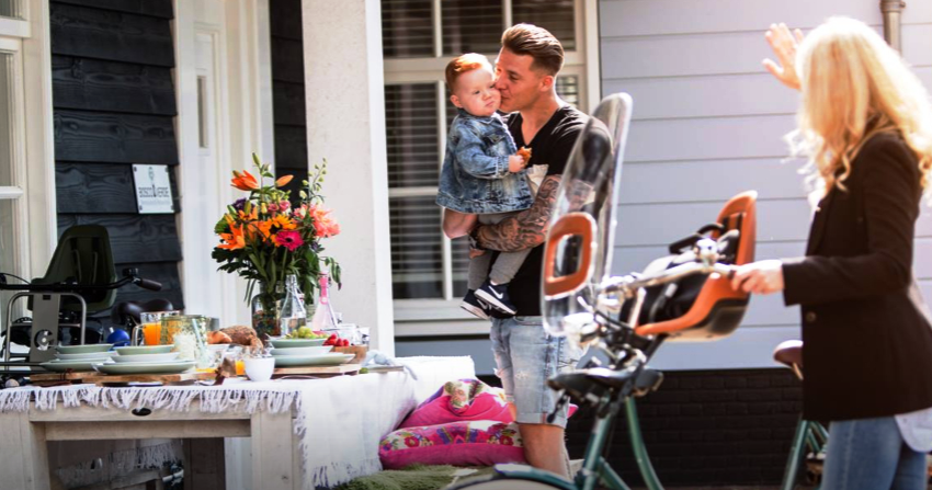 Πώς μεταφέρουμε το παιδί μας με ένα ποδήλατο