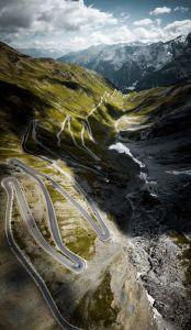 The legendary climb, Passo Dello Stelvio