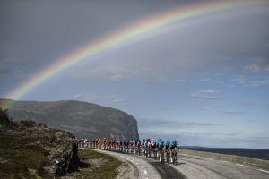 Under the rainbow... Arctic Race of Norway
