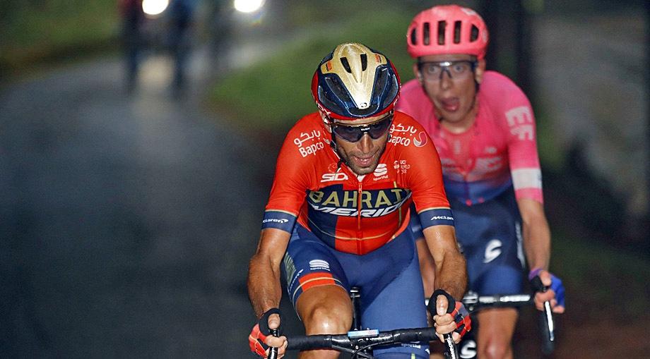 Vincenzo Nibali – Καμιά απογοήτευση από το Giro
