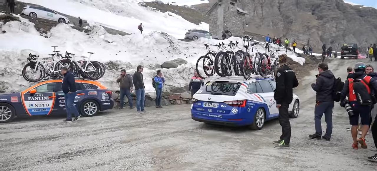 Τα παρασκήνια του 1ου εταπ βουνών στο Giro 2019 - Βίντεο