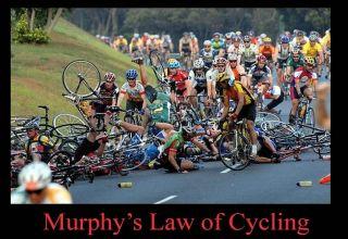 Ποδηλασία και νόμος του Murphy