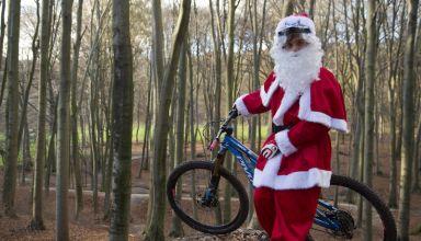 Ο Άγιος Βασίλης σε MTB - Βίντεο