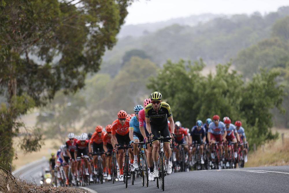 Tour Down Under – Λίστα εκκίνησης