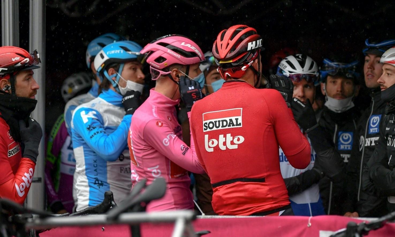 Οι αντιδράσεις, λόγω της μείωσης του 19ου εταπ στο Giro