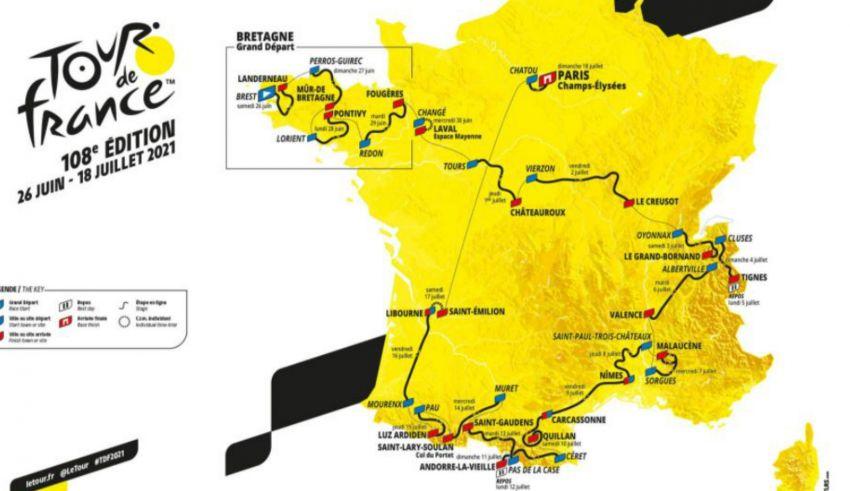 Tour de France 2021 – Συνολική παρουσίαση