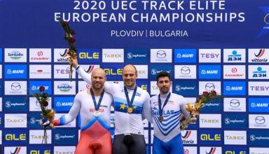 """Ευρωπαϊκό πρωτάθλημα ποδηλασίας - """"Χάλκινος"""" ο Σωτήρης Μπρέτας"""