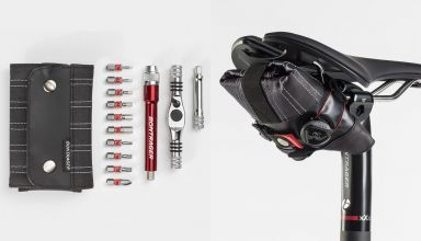 Bontrager Spring Roll Seat Bag + Pro Ratchet Multi-Tool