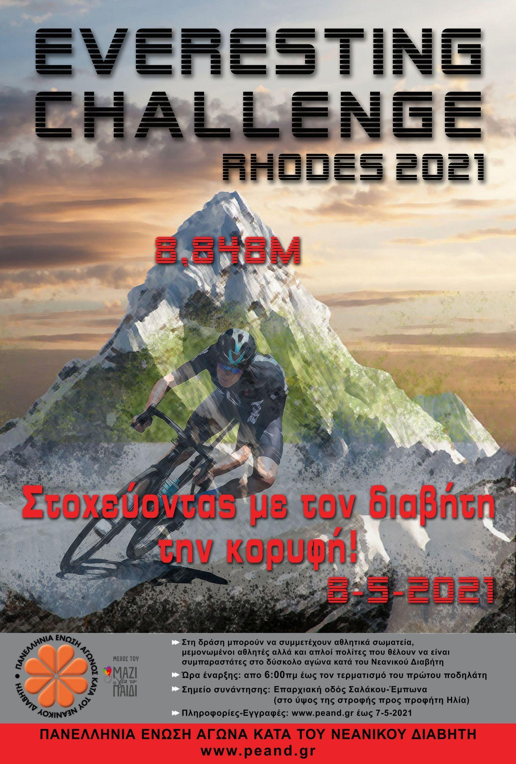 Everesting Challenge - Rhodes 2021