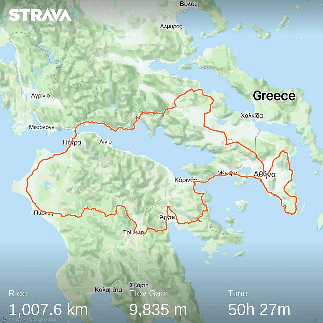 Ancient Tour 1000 km - Τα αρχαιολογικά μνημεία της Ελλάδας