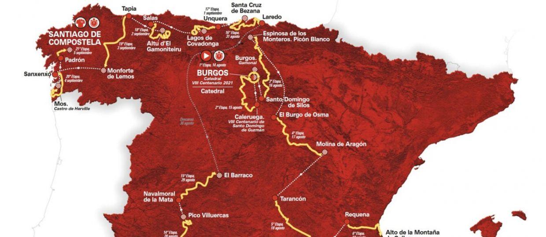 La Vuelta 2021 – Αναλυτική παρουσίαση