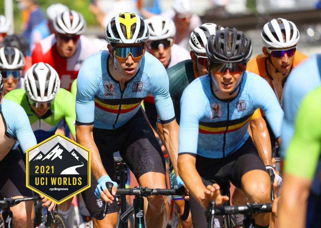 Παγκόσμιο Πρωτάθλημα Δρόμου 2021 – Λίστα εκκίνησης
